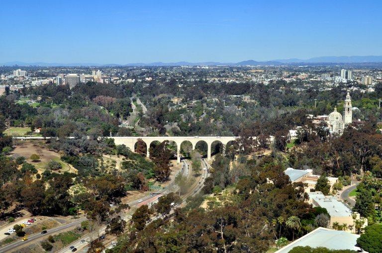 Aerial_-_San_Diego,_CA_-_Cabrillo_Bridge_and_Museum_of_Man_01.jpg
