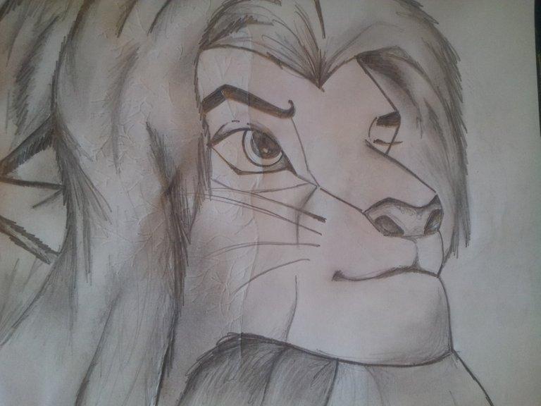 Mufasa sketch