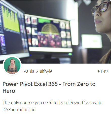 Power Pivot online training course