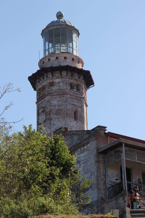The octagonal stone tower