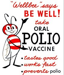 polio oral poster well bee CDC 1963 free.jpg