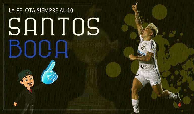 Santos vs Boca  La pelota siempre al 10.png
