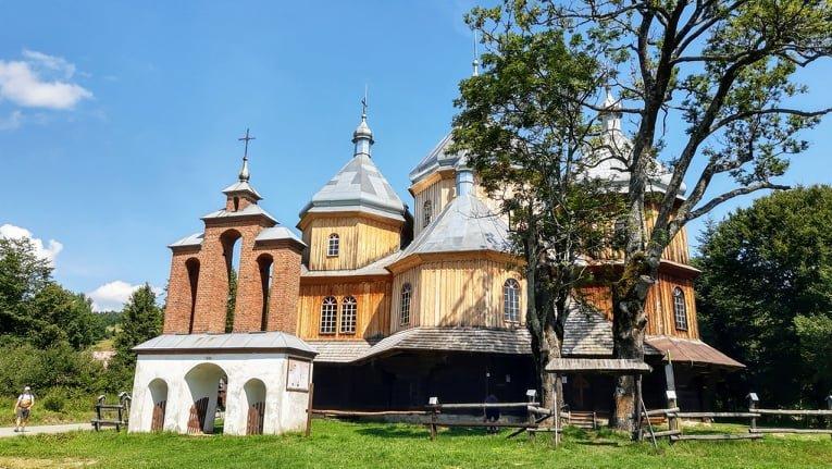 Cerkiew w Bystrem. Foto Agnieszka Surowiec