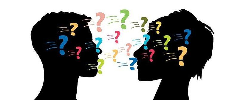 Man, Woman, Question Mark, Problems