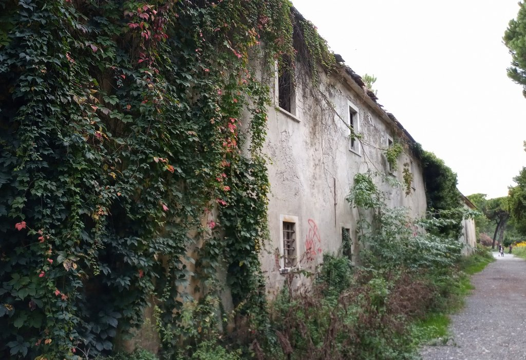 Old abandoned buildings