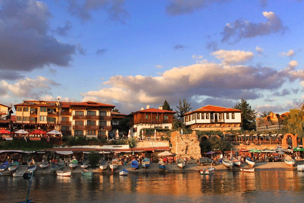 By the sea in Nessebar