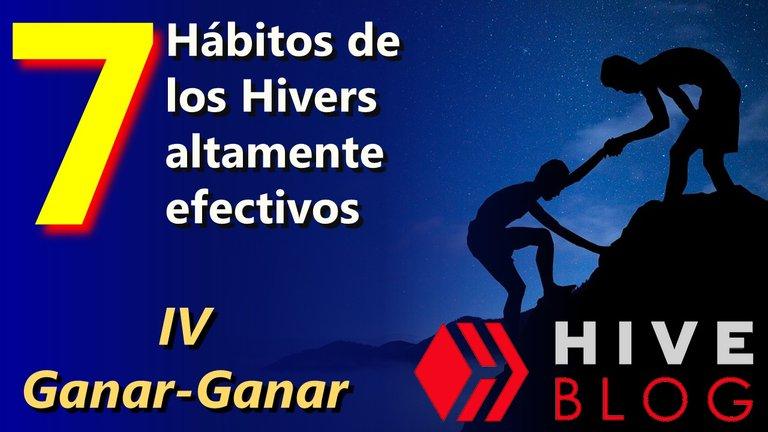 Los 7 hábitos de los Hivers altamente efectivos Ganar Ganar hive blog.jpg
