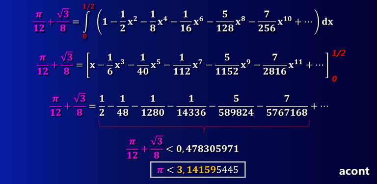 Cálculo de Pi Isaac Newton.png