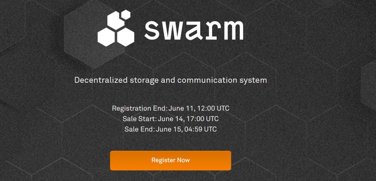 Swarm coinlist crowdsale 1