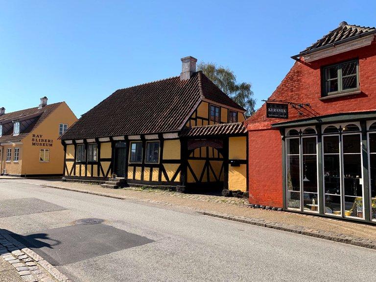 Algade st, Saeby, Denmark