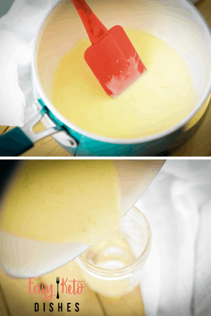 making keto condensed milk