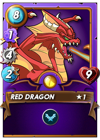 LEVEL 1 LEGENDARY RED DRAGON