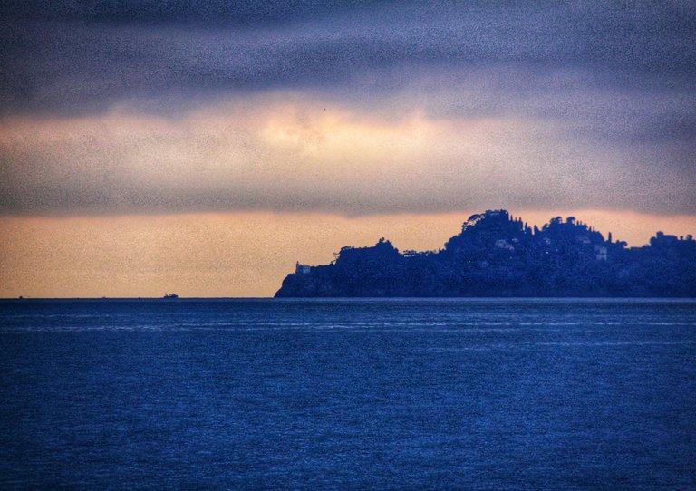 Portofino seen from Chiavari...