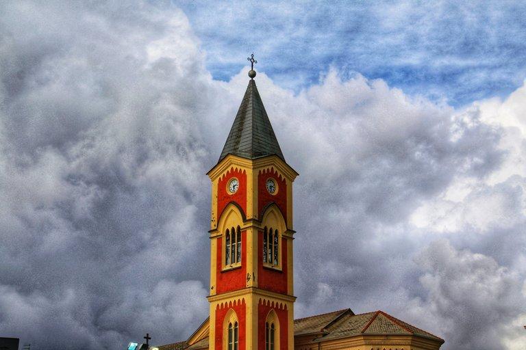 Campanile chiesa dei francescani - Chiavari