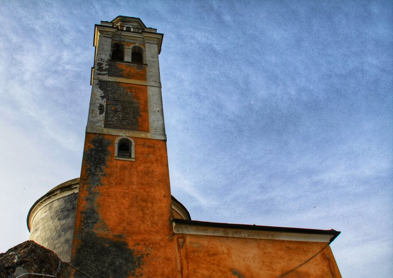 Bell tower of the church of San Giorgio