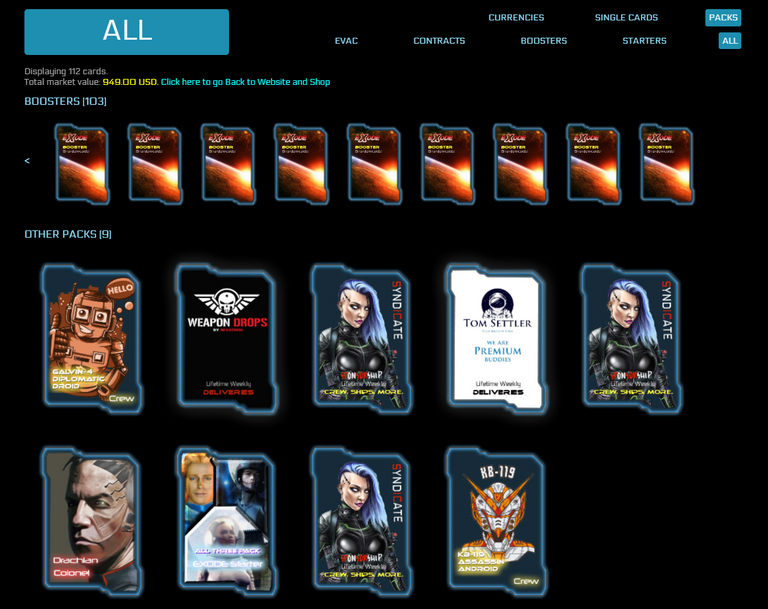 Your card collection is where you will start new games, in May.