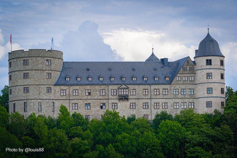 Nahaufnahme der Wewelsburg