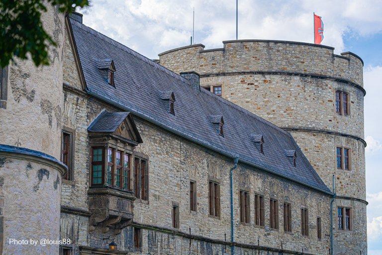 Frontansicht der Wewelsburg