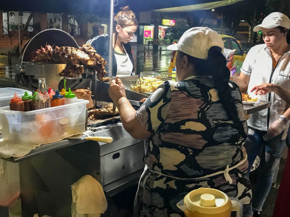 Street Food on Carrera 70