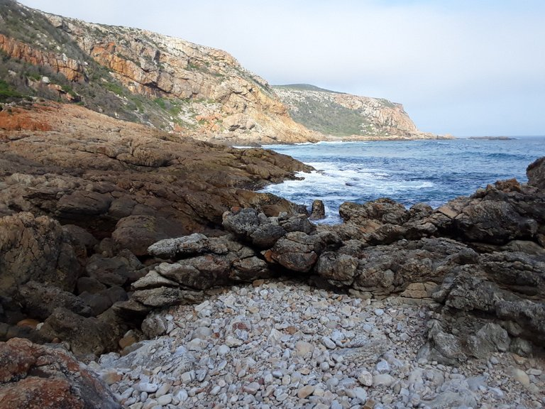The same rocky beaches that stone age Bushmen walked for thousands of years, until European sailors arrived
