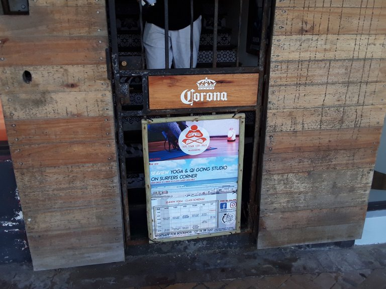 Front gate of the backpacker's I visited, seen in the first photo above