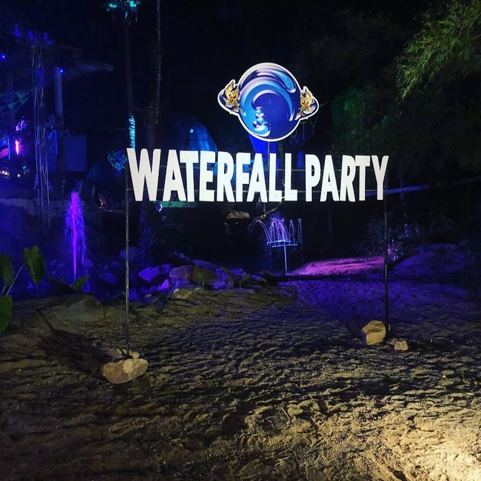 Waterfall Party in Koh Phangan Thailand