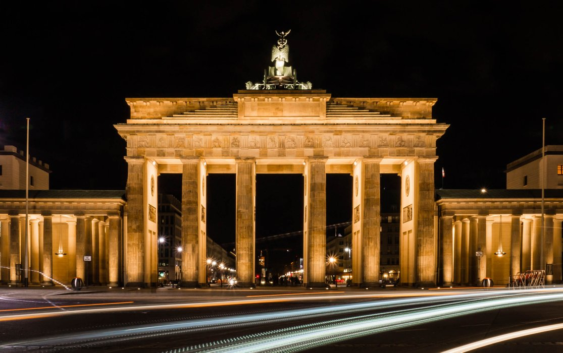 Brandenburg Gate. Photo by julianpetersphotography.de Used with permission