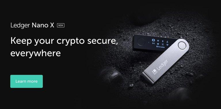 Ledger Nano S - The secure hardware wallet