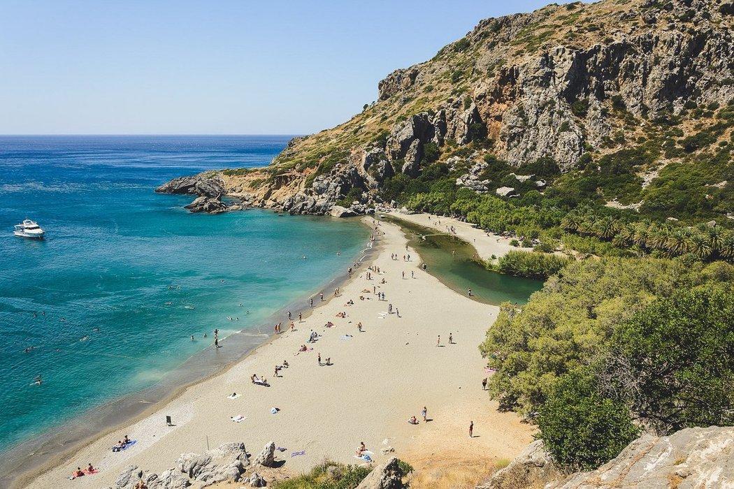 Preveli Beach, Crete Island