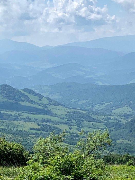 Widok z okolic Rozsypańca