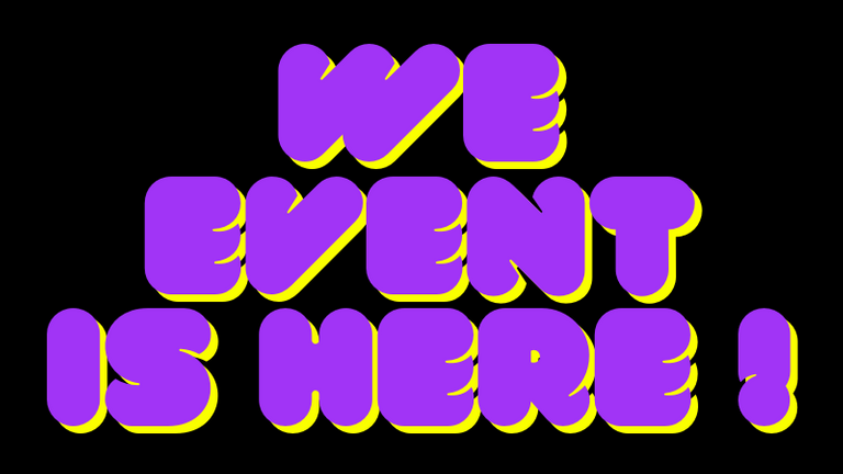 wE event is Here !.png