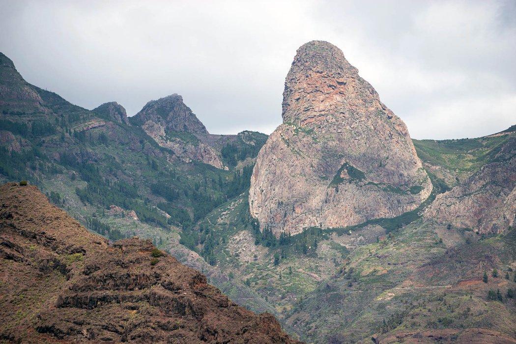 The Agando Lava Rock