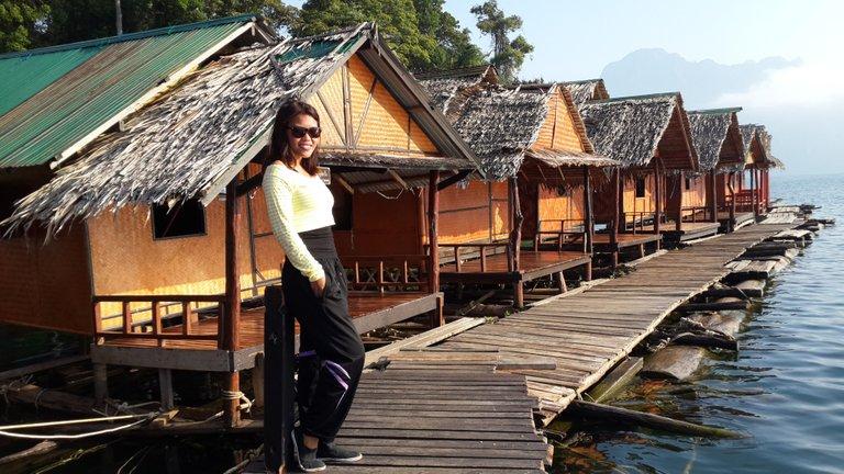 At Khao Sok National Park , Thailand