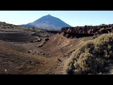 Beautiful Hike Near the El Portillo Visitor Center - Teide National Park - Tenerife