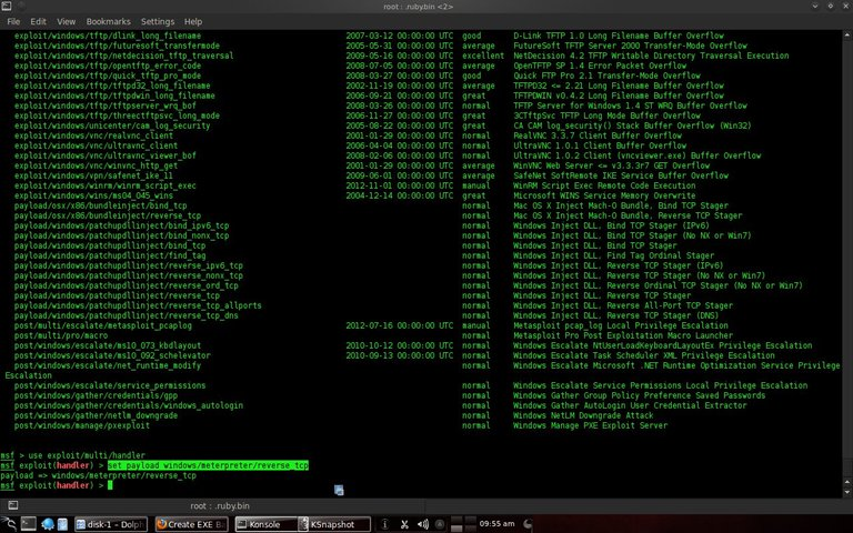 Gambar 3.8 Menggunakan windowsmeterpreterreverse_tcp.jpeg