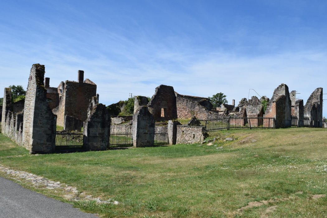 Ruins of Oradour-sur-Glase