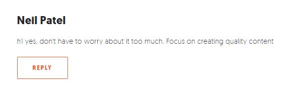 blog seo quality content