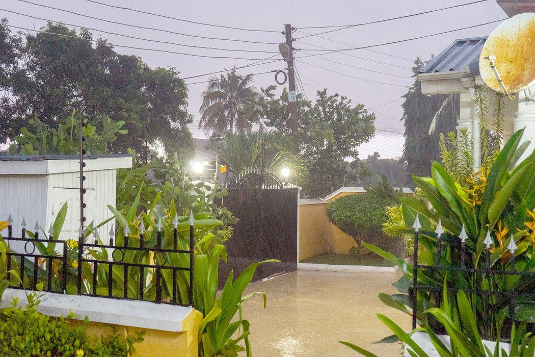 We got a taste of rainy season during our last week in Ghana