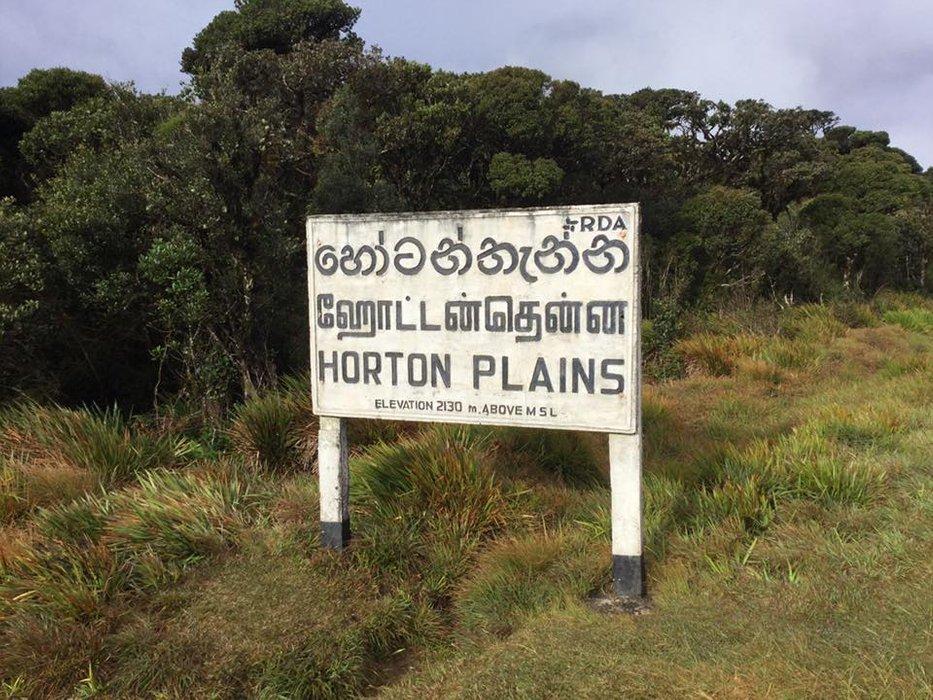 Horton Plains National Park in Sri Lanka...