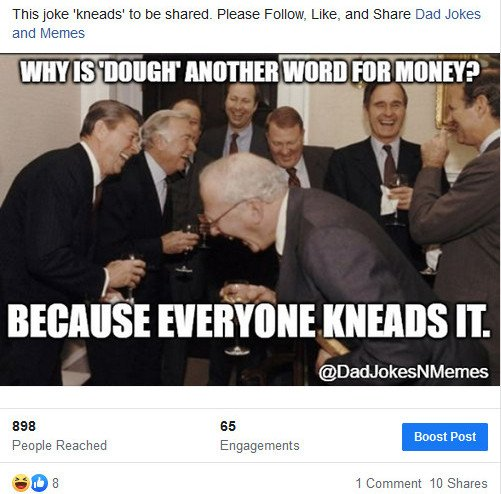 Classic Dad Joke