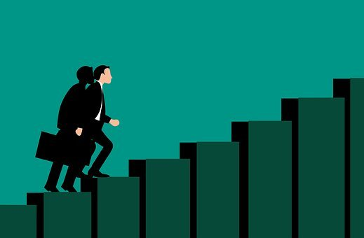 Career, Success, Path, Stair