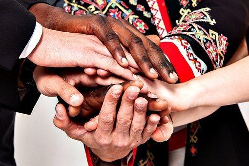 People, Multiracial, Diverse, Hands