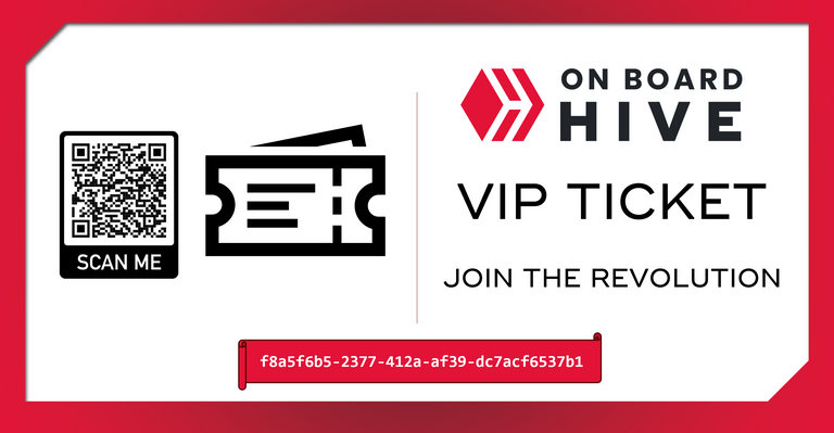 Sample VIP Ticket