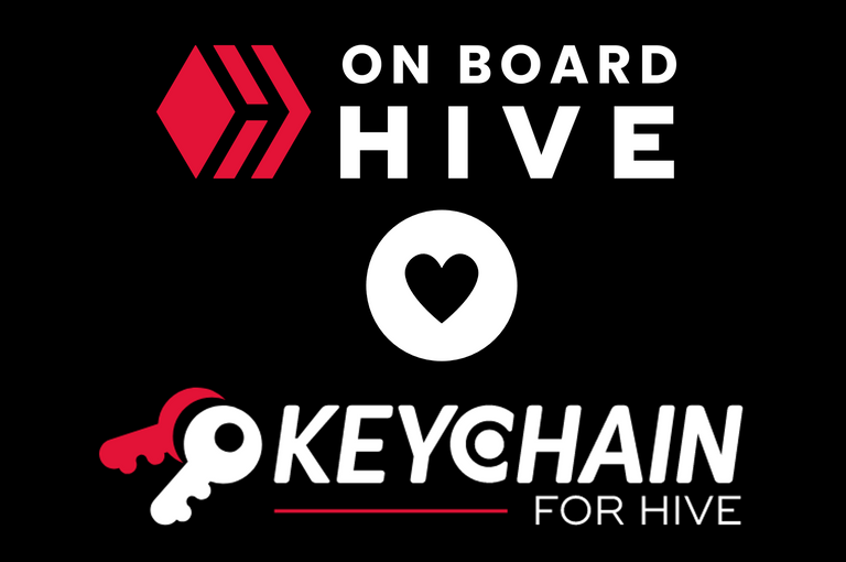 Hive Onboard loves Keychain