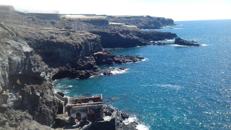 One end of Playa San Juan