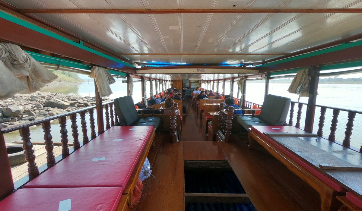 Inside the slow boat
