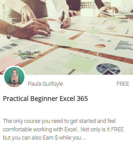 FREE beginner excel training