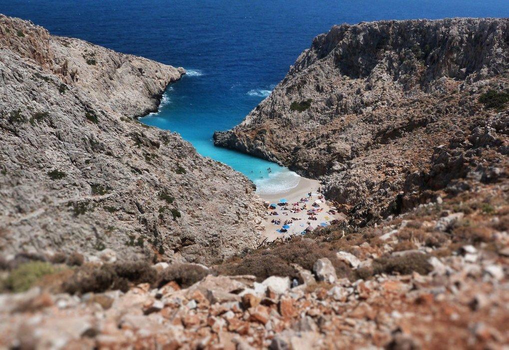 Stefanou Beach, Crete Island