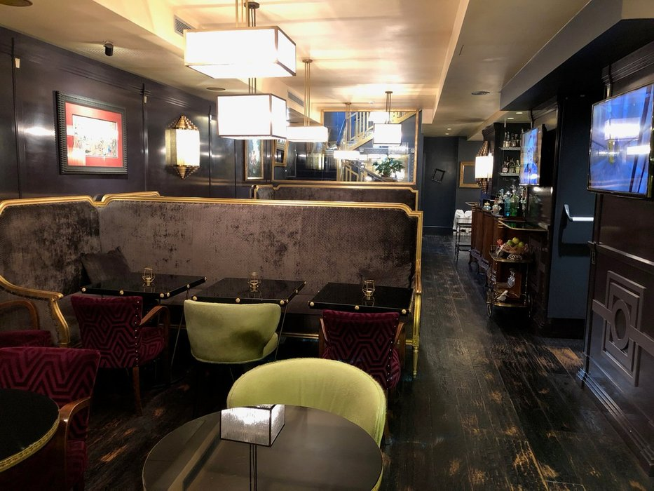 Lobby and hotel bar - HT6 Boutique Hotel, Rome