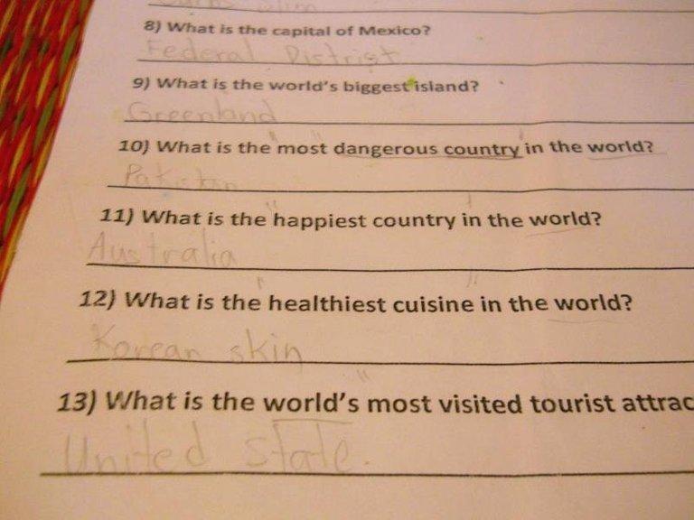 #Engrish from ESL Homework, Cambodia